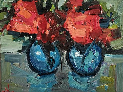 Original Painting 'Double Bouquet'