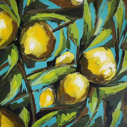Original Painting 'Lemon Tree'