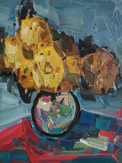 Original Painting 'Yellow Bouquet'