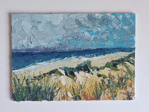 Original Painting'Dorset Dunes