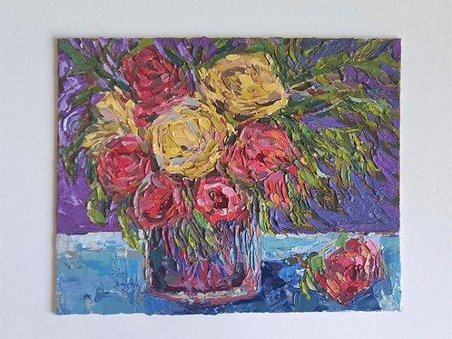 Original Painting 'Purple Light'