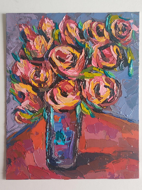 Original Painting 'Spring Bouquet'