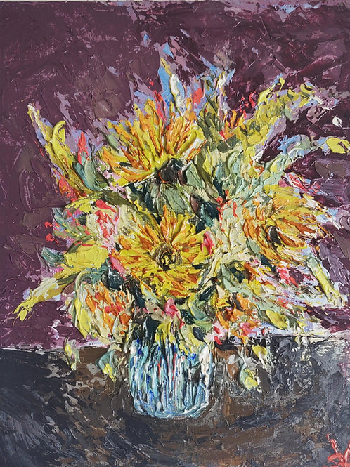 Original Painting 'Confetti Bouquet'