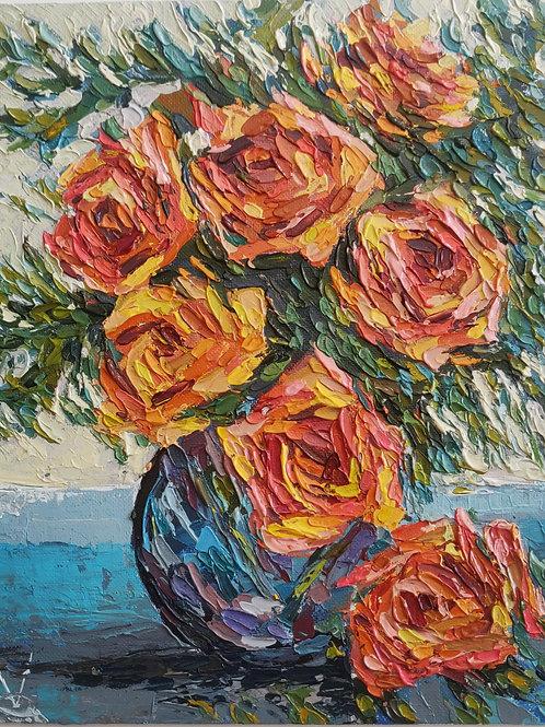 Original Painting 'Morning Bouquet'