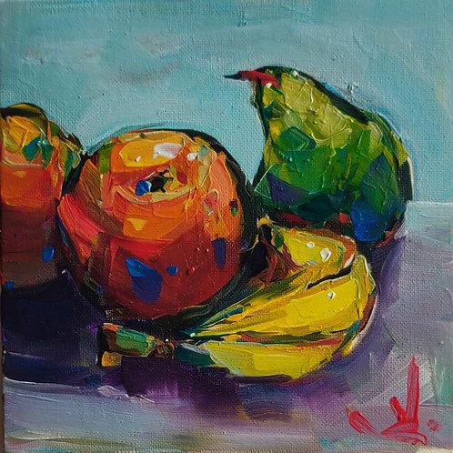 Original Painting 'Fruit Still Life'