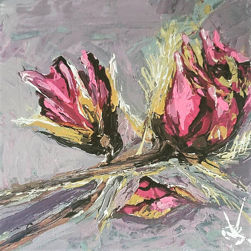 Original Painting 'Roses On The Table'