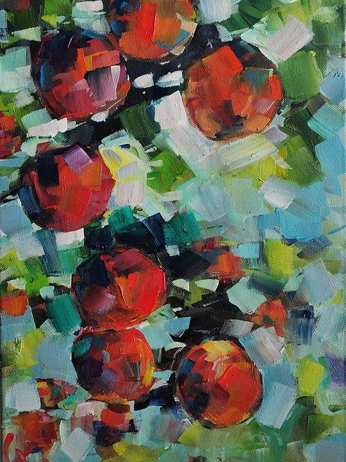Original Painting 'Tropical Oranges'