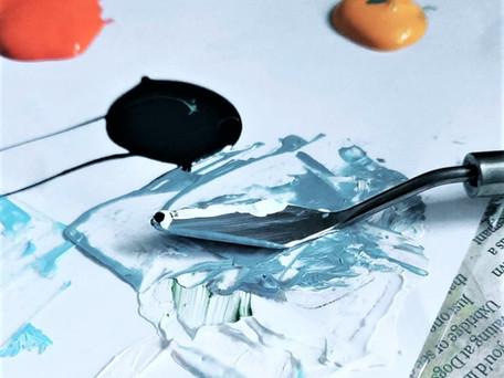 Soft Body Acrylic To Heavy Body Acrylic Paint