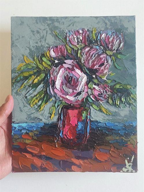 Original Painting 'Peony Magic'