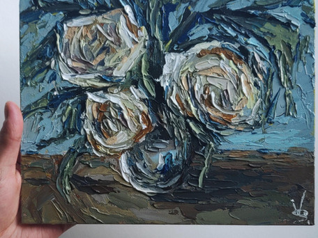 Just be intuitive - How To Paint Intuitively