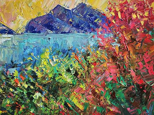 Original Painting 'Mediterranean'