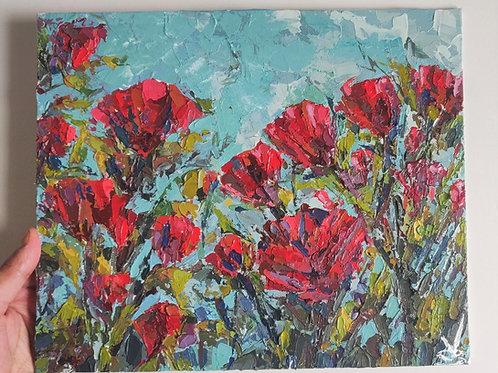 Original Painting 'Joy Of Roses'