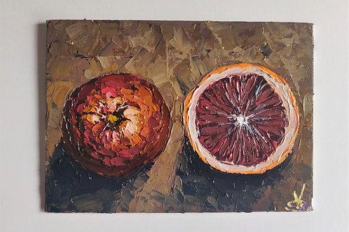 Original Painting 'Blood Orange'