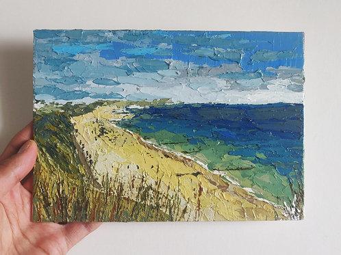 Original Painting 'Bournemouth Cliff'