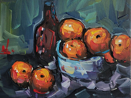 Original Painting 'Oranges Still Life'