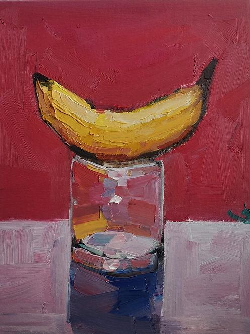Original Painting 'Banana Still Life'
