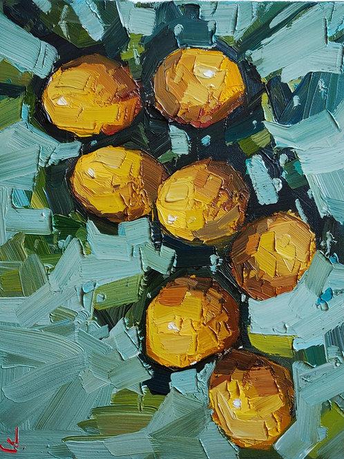 Original Painting 'Large Lemon Tree'