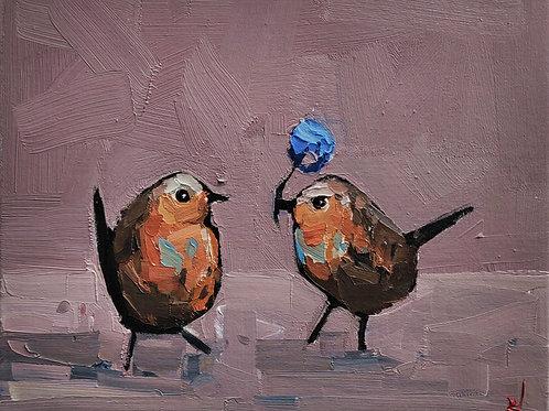 Original Painting 'Chivalry'