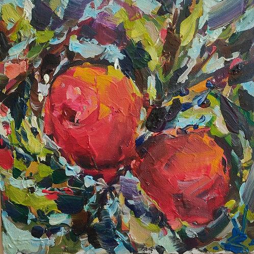 Original Painting 'Exotic Peaches'