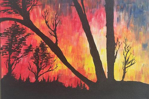 Original Painting 'Abstract Horizon'