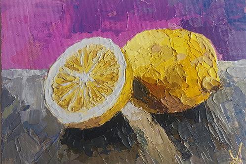 Original Painting 'Magic Lemons'
