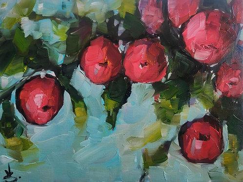 Original Painting 'The Apple Tree'