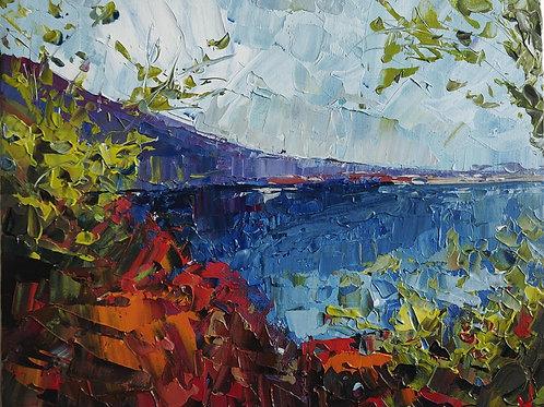 Original Painting 'Mediterranean Landscape'