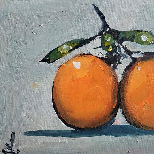Original Painting 'Two Oranges'