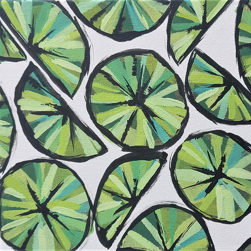 Original Painting 'Limes'