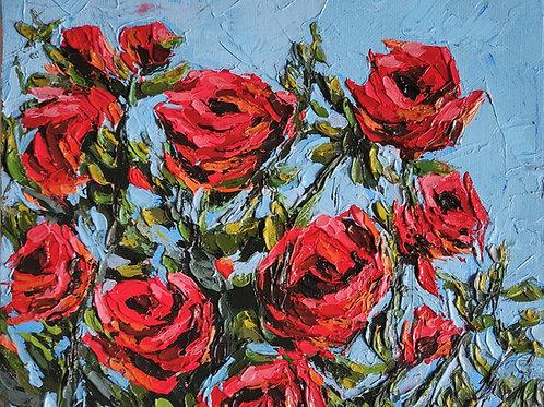 Original Painting 'Rose Garden'
