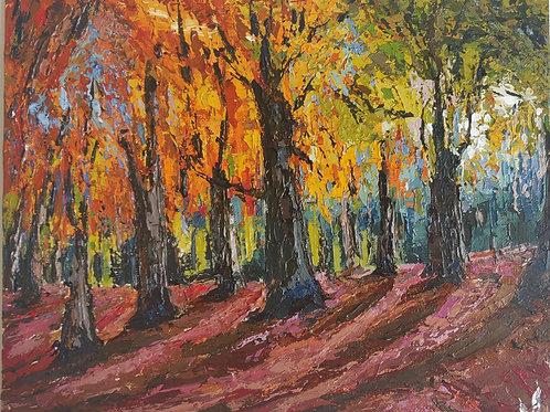 Original Painting 'Autumn Forest'
