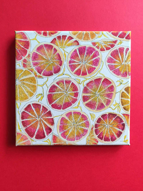 Blossom Collection 'Grapefruit Illustration'