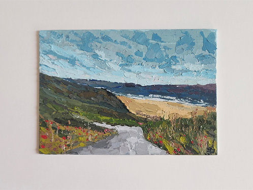 Original Painting 'Off To The Beach'