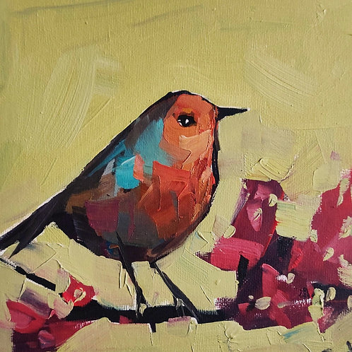 Original Painting 'Spring Robin'