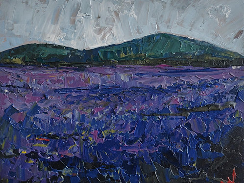 Original Painting 'Lavender Field'