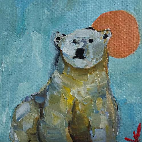 Original Painting 'Polar Bear'