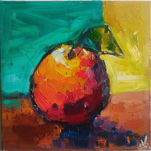 Original Painting 'Grapefruit Study'