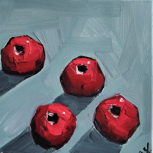 Original Painting 'Rich Pomegranates'