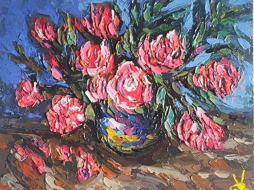 Original Painting 'Pink Roses'