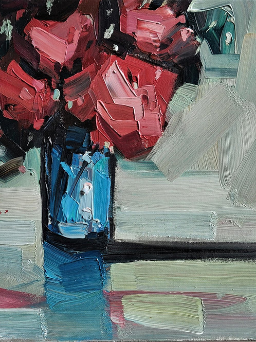 Original Painting 'Red Bouquet'