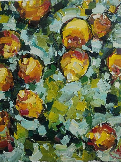 Original Painting 'Italian Lemons'