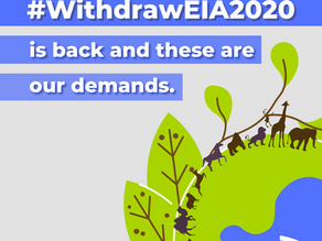 Letter to the MoEF&CC: Draft EIA 2020