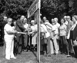 Drop In Center Opening 1987 with Mayor B