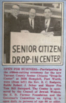 1967 Drop In Center Opening News Clip.jp