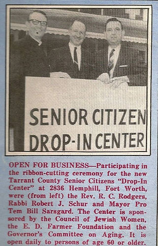 1967 Drop In Center Opening News Clip.jp
