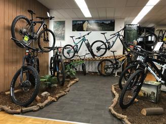 Mountain Bike Ausstellung