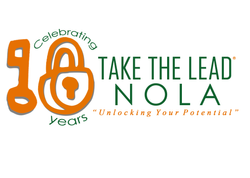 Take The Lead Nola 10 Year Logo Mock Up.