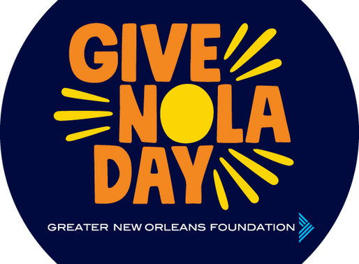 GiveNOLA Day 2020 is Coming Soon!