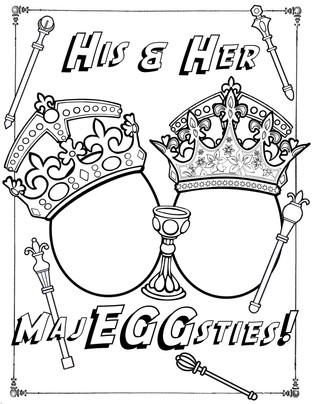 His and Her MajEGGsties