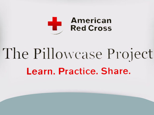 American Red Cross Pillow Case Project